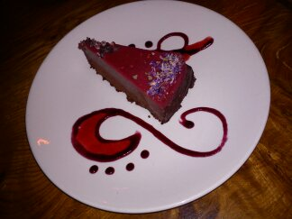 Raspberry and Chocolate Torte